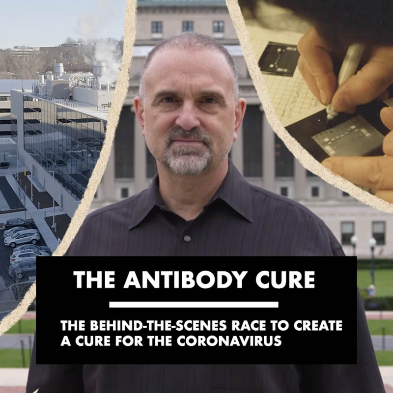 'The Antibody Cure' interactive documentary cover