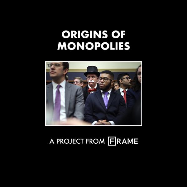 'Origins of Monopolies' interactive documentary cover