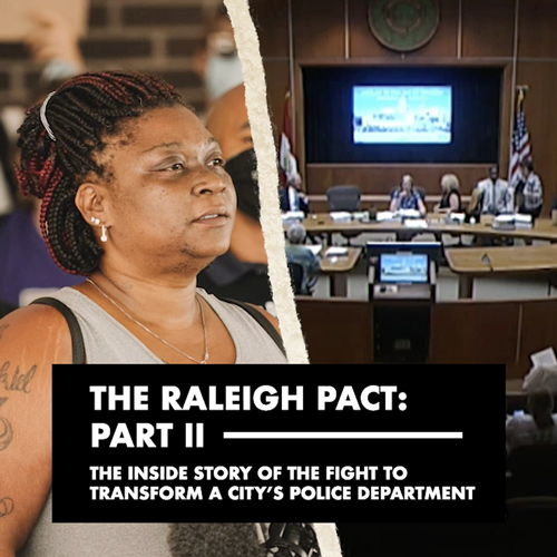 'The Raleigh Pact: Part II' interactive documentary cover