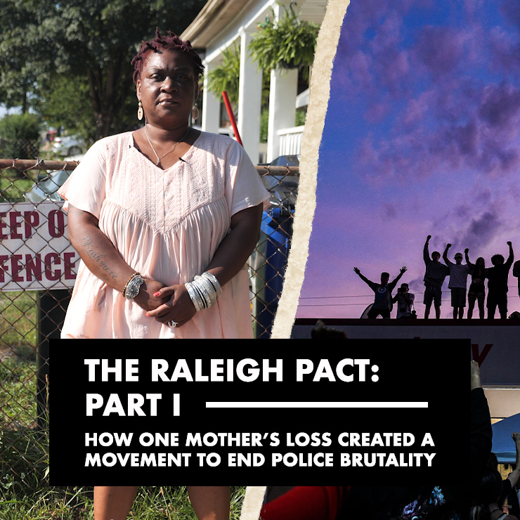 'The Raleigh Pact: Part I' interactive documentary cover