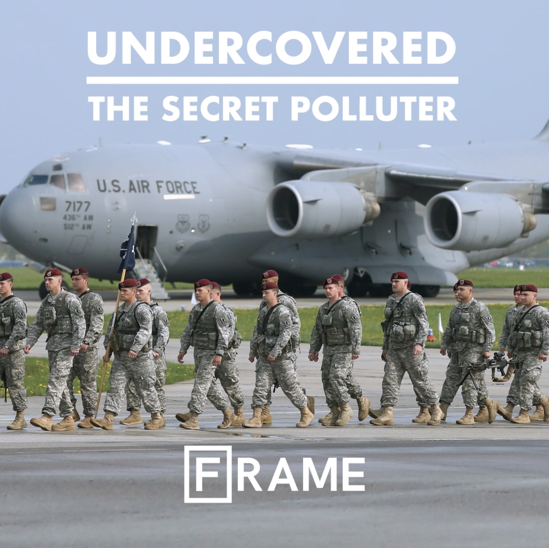 'Undercovered: The Secret Polluter' interactive documentary cover